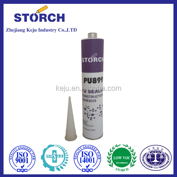 Storch Black color winshield bus glass PU adhesive sealant