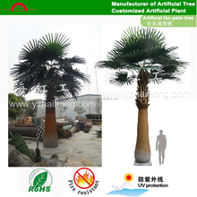Artificial Fake fan palm trees for outdoor/indoor decoration