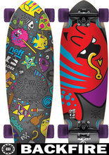"Backfire Globe X Neff Sea Pals Cruiser 9.25"" X 30"""