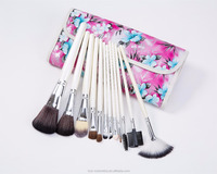 Top Selling Pincel Wholesale Cheap Custom Blush Eyebrow Pencil 12PCS Makeup Brushes Sets Kits For Girls Beauty Cosmetic Holder