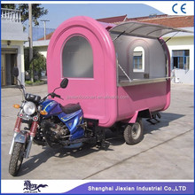 JX-FR220i Movable food carts motorcycle food truck motorcycle truck for sale