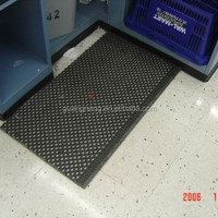 Anti Slip Commercial Kitchen Perforated Rubber