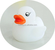 Hot selling weighted floating white rubber ducks