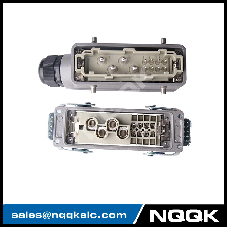 HK 4 pin + 8pin 12pin 4/8 pins 80A Current Automotive signal wire Heavy Duty Industrial Connector