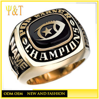china manufacturer cheap custom youth football championship replica sports rings (HF-083)