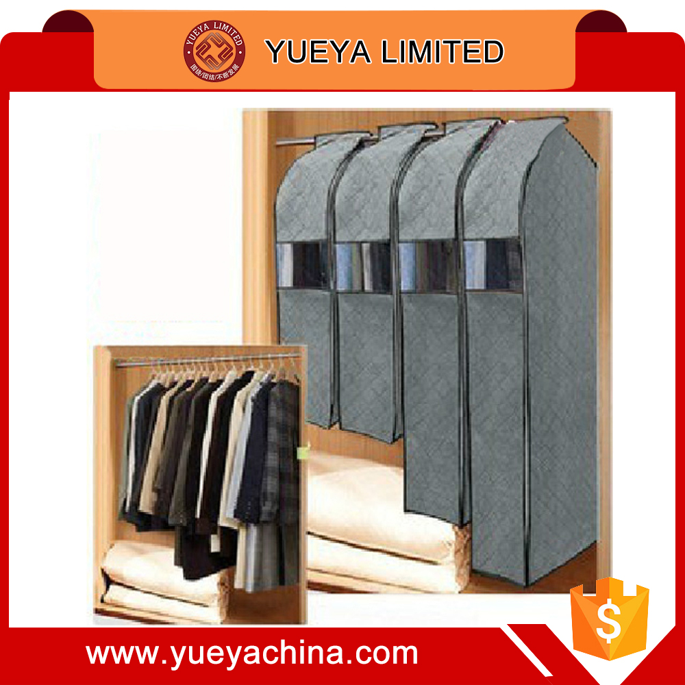 3D bamboo charcoal business suit dust cover dustproof coat cover (medium size)