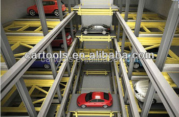 Shuttle stacker parking system