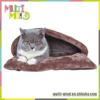 2016 Popular Pet Mat Warm pet houses with fleece Plush cat house
