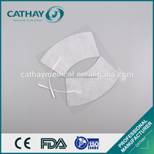 Factory deirectly supply certificated self-adhesive tens electrodes for breast conductive rubber tens pads