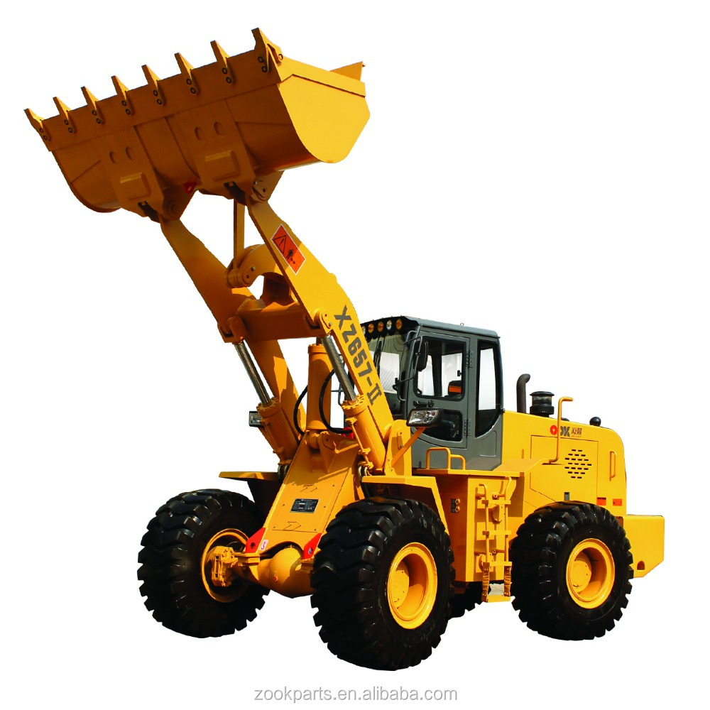 High quality XZ657-II 5ton wheel loader price for sale