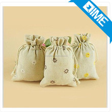 New Arrival Blank Unbleached Cheap Plain Canvas Pouches With Personal Logo