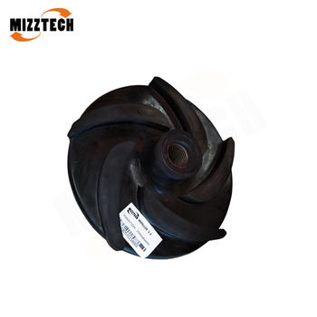 MIZZTECH Investment Casting Water Pump Impeller or Slurry Pump Parts