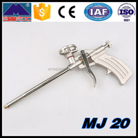 Building strong and adjustable foam flow coating spray gun