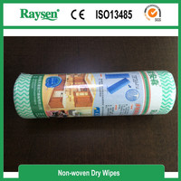 Customized Made Competitve Price Wholesale Disposable Cleaning Dry Wipes