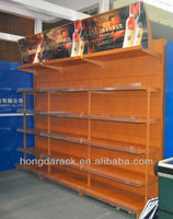 store beverage shelving