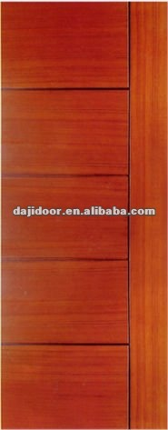 Solid Wood Plain Flat Interior Doors Design DJ-S3416-1