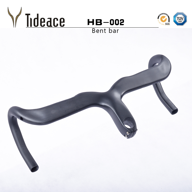 wholesale Full Carbon Mountain Bike Handlebar Carbon Fiber MTB Bicycle Integrated HandleBar With Stem