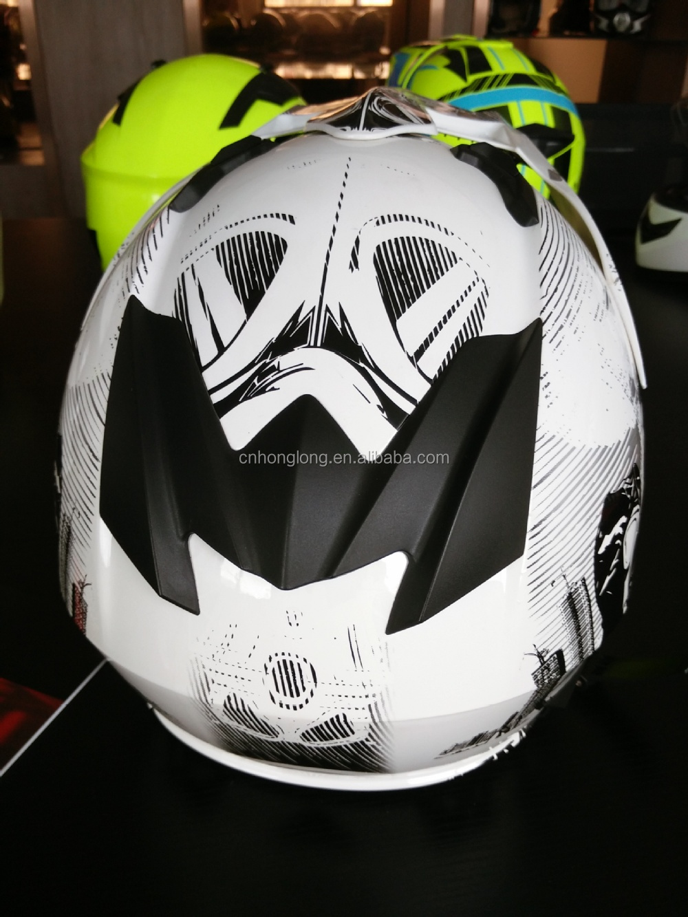 2015 New designed full face safety helmet with high quality ---ECE/DOT Approved