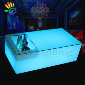 Outdoor Glowing Bar Nightclub Luminous Mobile Home Furniture Set led lounge furniture for party