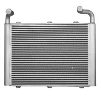 OEM plate-bar aluminum boat engine heat exchanger