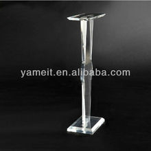 Floor Stand Clear Acrylic Lectern for Meeting