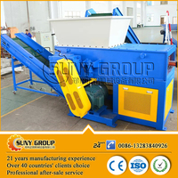 Used metal single shaft shredder with bottom quotation