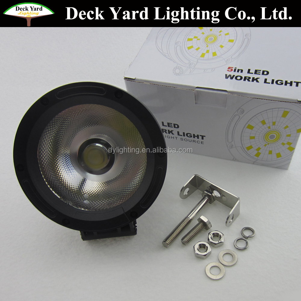 round auto working ligh for car Led Spot Light 12v Rechargeable Led Working Lights lamp small led working light