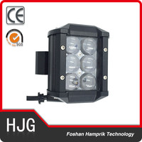4x4 led offroad auto accessories car led light SUV working light 18w double row 4 inch led boat light