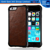 Cool TPU+Leather Case For iPhone 6 4.7inch, Protective 4.7inch Case of Leather Material For iPhone 6