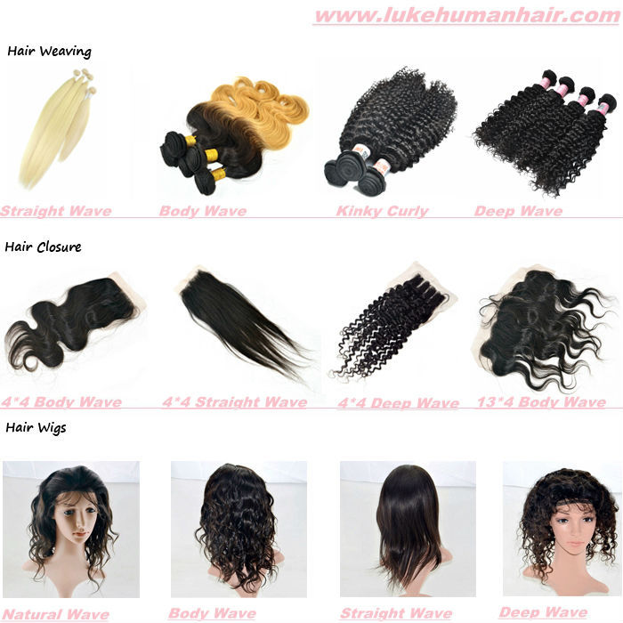 Raw Unprocessed Virgin Cambodian Hair Mink Hair Extensions View