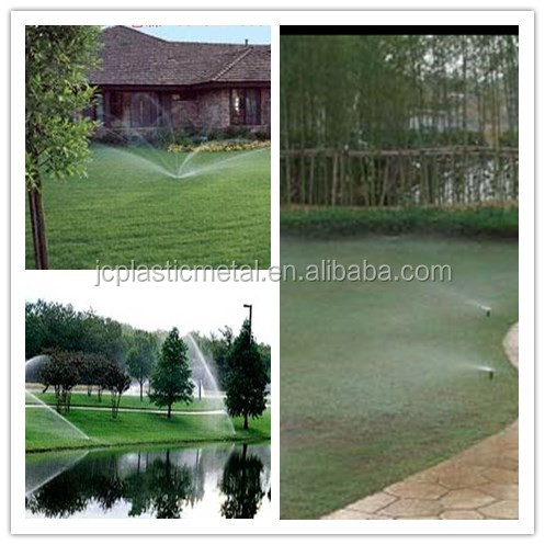 Impct pop up sprinklers for irrigation