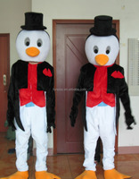 HI CE movie character mascot costume penguin for adult ,good standard mascot costume for sales
