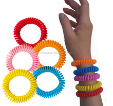 Sell insert Mosquito Repellent wristbands, -No Spray, Deet-free -all Natural Plant Oils