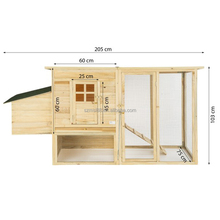 new design factory wholesale large cheap wooden chicken coop