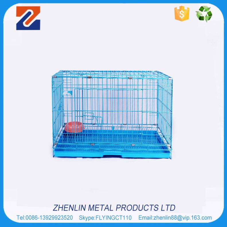 Alibaba china high grade travel dog cage with wheels