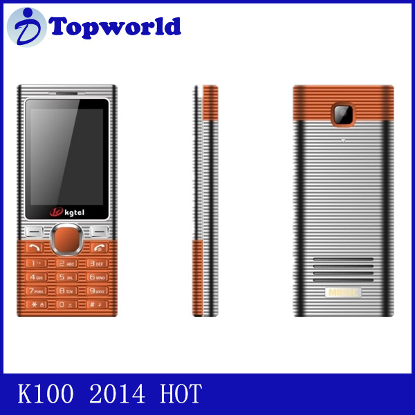 movil barato phone K100 with Dual SIM dual standby and multi languange and 4 band by FM MP3 MP4 for south america