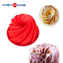 JianMei Brand Circle Design New Arrivals Hot-selling Silicone Cake Mold