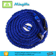 Protable colorful snake water flexible magic elastic expandable garden hose car wash water hose