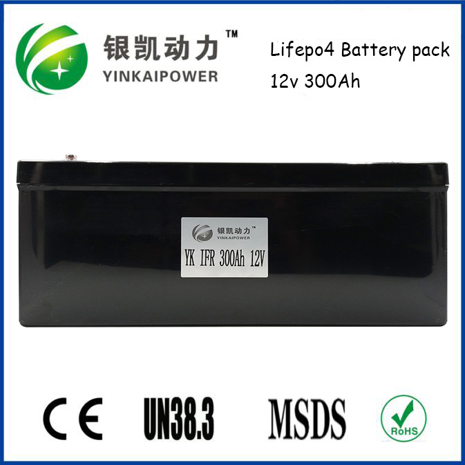 Alibaba USA hot sale, 12V 300Ah LiFePO4 battery for electric boat engine,motor battery