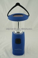 6 LED with mobile phone charger solar handy lantern