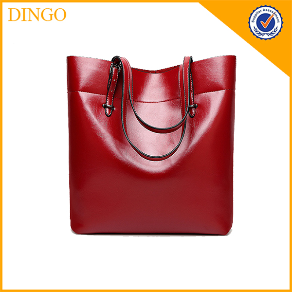 Big Fashionable PU Leather Women Purses Handbags Ladies 2016