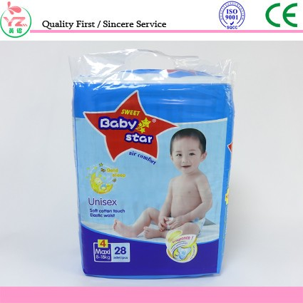 High Quality Competitive Price Disposable Baby Diaper Manufacturer from China