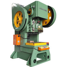 Flywheel run J23 Series Mechanical Power Press Punching Machine for sale
