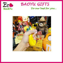 2015 New Advertising Gifts,Banana shaped stress reliever