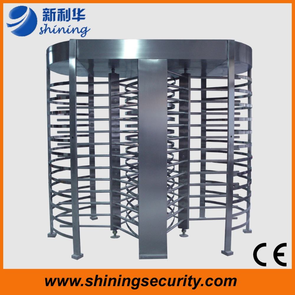 affordable Bidirectional turnstile gate price full height electronic turnstile