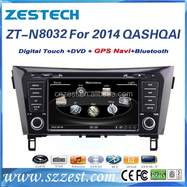 touch screen 2 din car radio for Nissan Qashqai 2014 double din radio car gps navigation cd player with DVD GPS BT TV USB