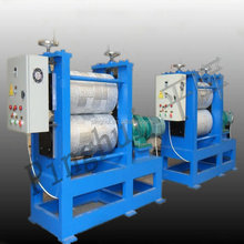 Brick grain steel embossing machine