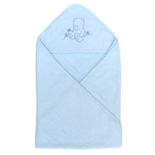 extra soft organic bamboo hooded baby towel