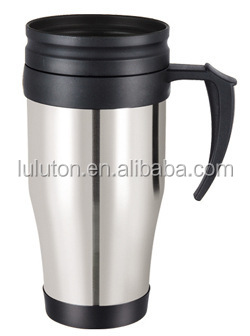 16 oz best insultaed stainless steel coffee thermos travel mug 16OZ Double walled starbucks tumbler