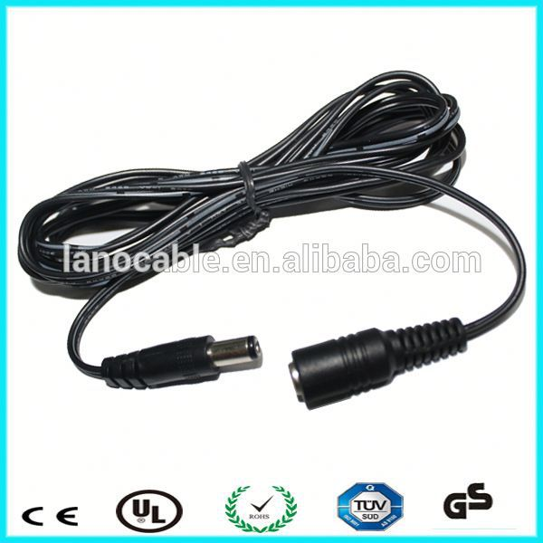 5 ft 5.5x2.1 plug dc connect cable for power adapter